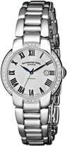 Raymond Weil Women's 2629-STS-01659 Jasmine Analog Display Swiss Automatic Silver Watch
