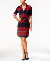 Tommy Hilfiger Striped Shirtdress