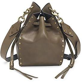 Isabel Marant Women's Radja Leather Bucket Bag