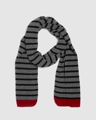 Kate & Confusion Rugby Stripe Scarf