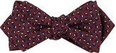 Drakes Drake's Men's Dot-Pattern Silk Bow Tie