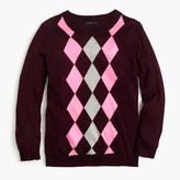 J.Crew Tippi sweater in argyle