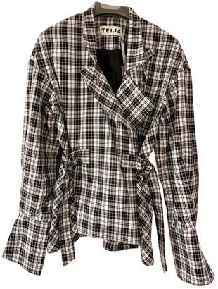Teija Multicolour Cotton Jacket for Women