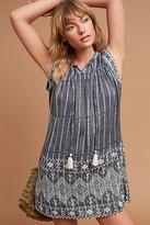 Love Sam Yarn-Dyed Threadwork Dress