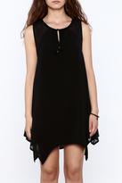 Umgee USA Black Keyhole dress