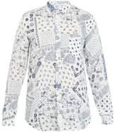 120% Lino Paisley-print linen shirt