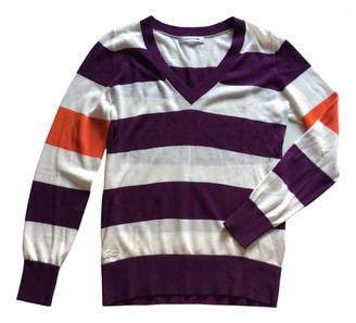Lacoste White Cotton Knitwear