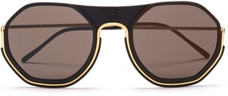 Wires Glasses Sting - Gold/Black/Grey