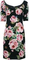 Dolce & Gabbana fitted rose dress