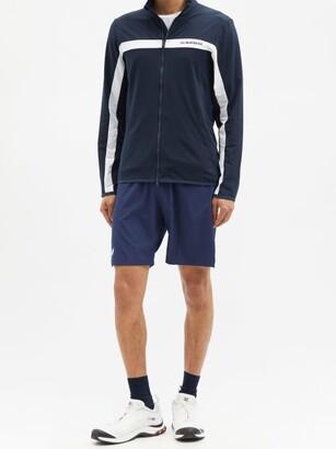 J. Lindeberg Jarvis Zipped Mid-layer Jacket - Navy