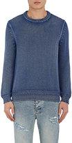 Barneys New York Men's Cotton Rib-Knit Sweater