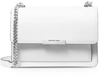 Michael Kors White Jade Crossbody Bag