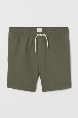 H&M Knee-length Cotton Shorts