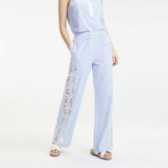 Tommy Hilfiger Striped Pyjama Style Trousers