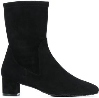 Stuart Weitzman Ernestine low heel boots