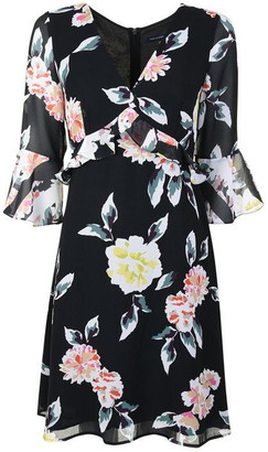 French Connection Frilled Dress