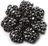Avalaya Iridescent Crystal Corsage Flower Brooch ( Tone)