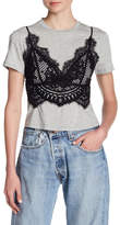 KENDALL + KYLIE Kendall & Kylie Lace Cami Tee