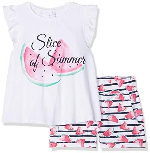 Name It Girl's Nmfzidafie Shortsset Clothing Set