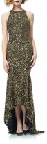 Theia Sequin Mermaid Gown