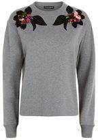 Dolce & Gabbana Flower Appliqué Sweatshirt