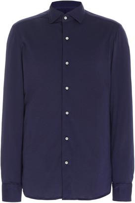 Boglioli Cotton-Jersey Sport Shirt