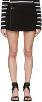 Isabel Marant Black Quilted Gael Miniskirt