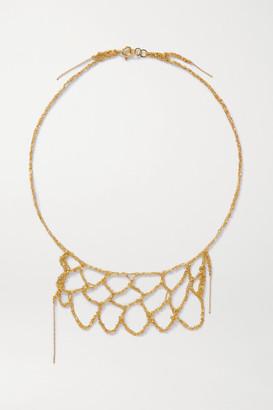 Katia Alpha Gold Vermeil Necklace