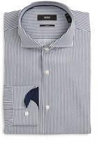 BOSS Slim Fit Stripe Dress Shirt