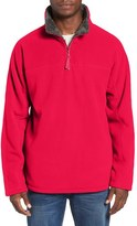 True Grit Men's Quarter Zip Fleece Pullover