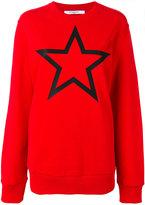 Givenchy star print sweatshirt - women - Cotton - S