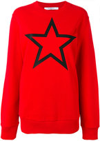 Givenchy star print sweatshirt - women - Cotton - XS