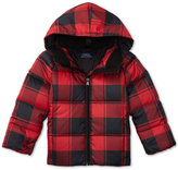 Ralph Lauren Plaid Down Jacket, Toddler & Little Girls (2T-6X)