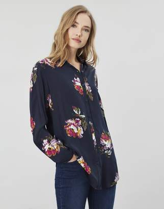 Joules Elvina Button Front Woven Top