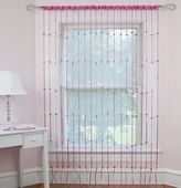 Holly & Martin® Heartbeat Jewelry Rod Pocket Window Curtain Panel in Pink
