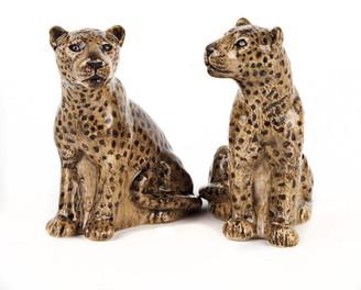 Quail Ceramics - Leopard Salt and Pepper Shakers