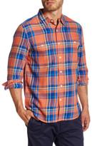 Lucky Brand Long Sleeve Plaid Regular Fit Shirt