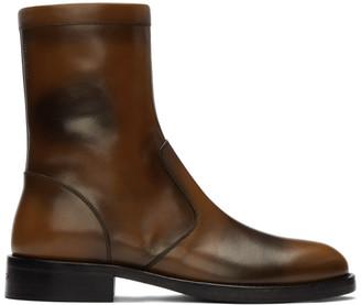 Givenchy Brown Cruz Boots