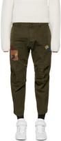 DSQUARED2 Green Skipper Chino Trousers