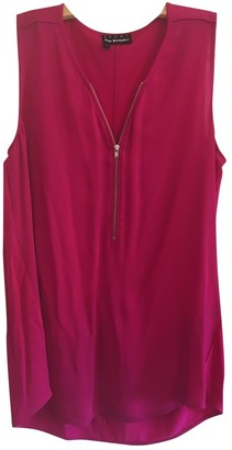 The Kooples Pink Silk Top for Women
