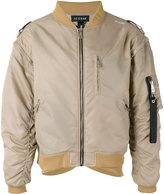 Icosae - classic bomber jacket - men - Nylon/Cupro - M