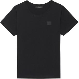 Acne Studios Kids Mini Nash Face cotton T-shirt