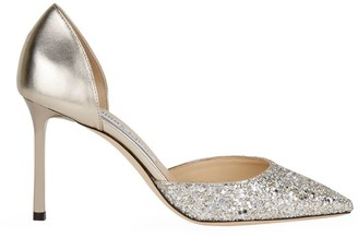 Jimmy Choo Esther 85 Glitter Pumps