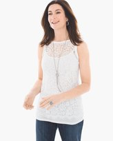 Chico's Lace Layering Tank
