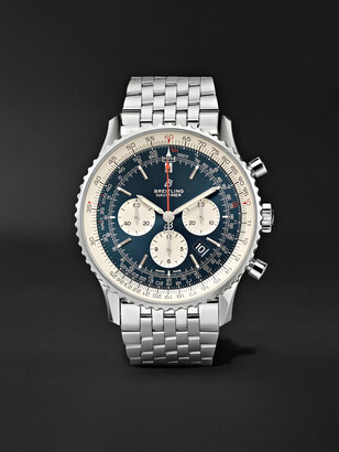Breitling Navitimer 1 Automatic Chronograph 46mm Steel Watch, Ref. No. Ab0127211c1a1