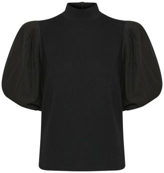 Gestuz Bima Puff-Sleeve Turtleneck