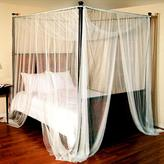 Sheer Four Post Bed Canopy