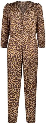 Mes Demoiselles Slash Jumpsuit - viscose | 36 (S) | beige - Beige