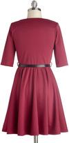 Abiding Beauty Dress in Ruby