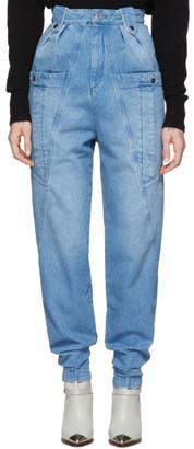 Isabel Marant Blue Kerris Jeans